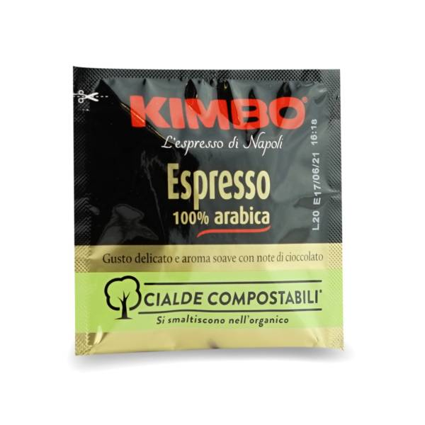 Kimbo Espresso 100% Arabica E.S.E Pads