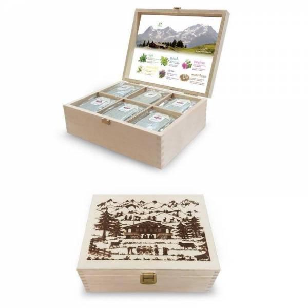 Teebox für Firmen und Büro | Swisstea