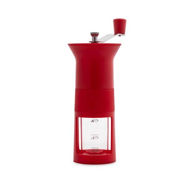 Bialetti Kaffeemühle Rot