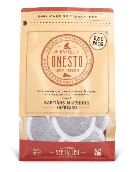 ONESTO Bio & Fairtrade E.S.E Pads 44mm