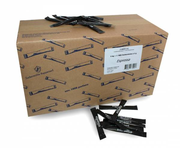 Zuckersticks 5g Karton à 1000stk.