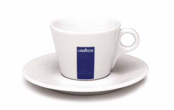 Porezllan Tasse für Kaffee | Lavazza