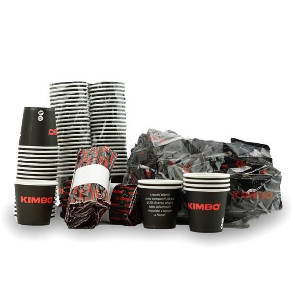 Kimbo Caffè - Kaffeezubehör Kit