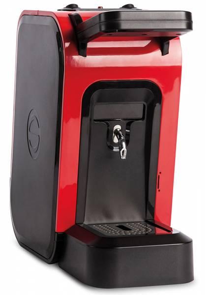 Spinel Ciao in Rot E.S.E Pads Kaffeemaschine