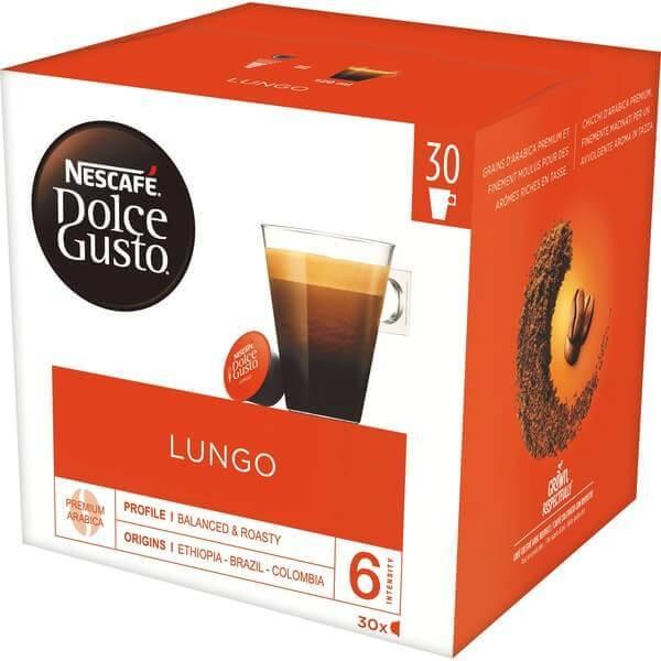 Nescafé Dolce Gusto Lungo 30 Kapseln
